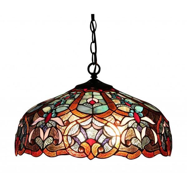 This Lantern Inspired House Design Lights Up A California: Shop Chloe Tiffany Style Victorian Design 2-light Dark
