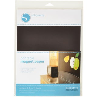 Silhouette Magnet Paper.