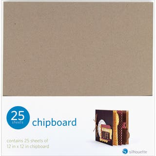 Silhouette 12 x 12 Chipboard 25-Pack.|https://ak1.ostkcdn.com/images/products/9173532/P16349689.jpg?impolicy=medium