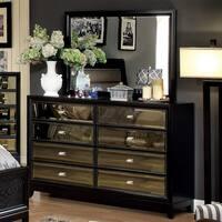 Furniture of America 2-piece Dresser and Mirror Set