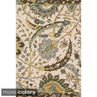 Hand-hooked Tessa Floral Multi Rug - 9'3 x 13'