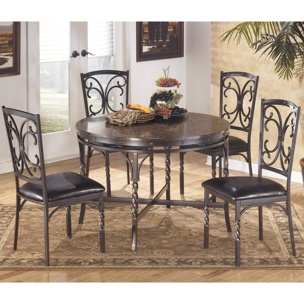 signature designs by ashley brindleton round dining room