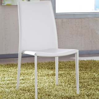 Signature Designs by Ashley Baraga White Dining Room Chair (Set of 2)