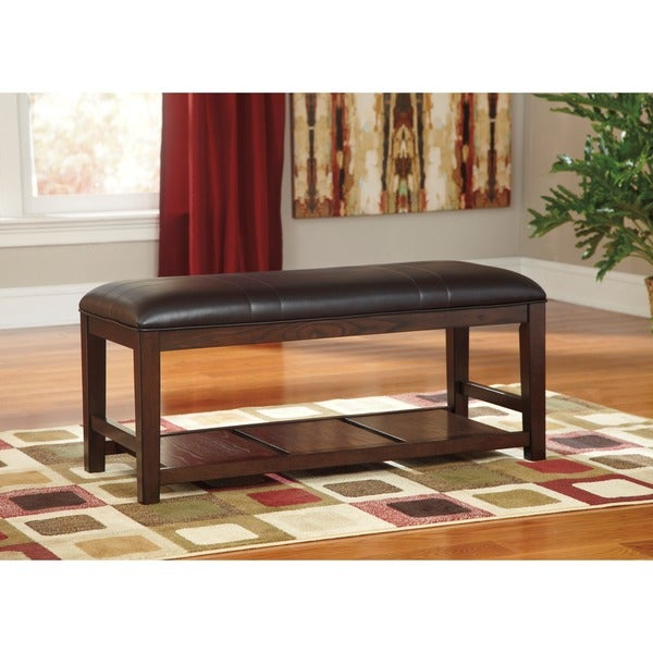 Signature Designs by Ashley Watson Dark Brown Dining Bench