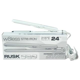 Rusk W8less Str8 Iron Ceramic and Tourmaline Flat Iron