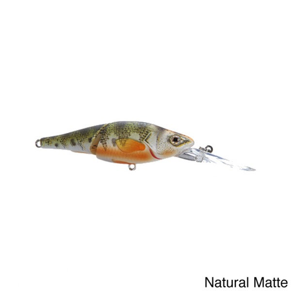 """Koppers Live Target Yellow Perch Deep Dive Jointed Crankbait 2-7/8"""""""