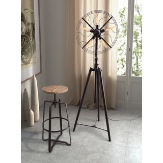 Samsonyte 5-light Rust Black Floor Lamp