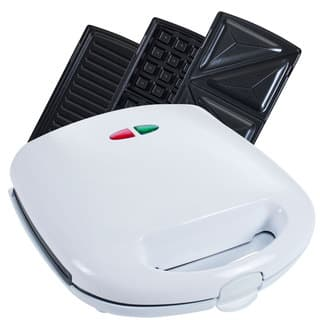 Chef Buddy 3-in-1 Electric Waffle Maker Sandwich Panini Press|https://ak1.ostkcdn.com/images/products/9173683/P16349919.jpg?impolicy=medium