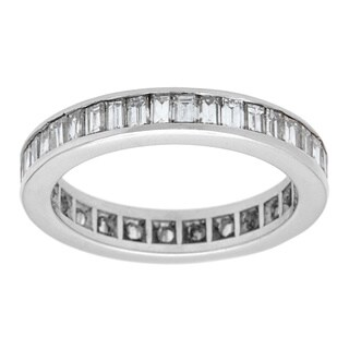 Pre-owned Platinum 2ct TDW Eternity Band Ring (G-H, VS1-VS2)