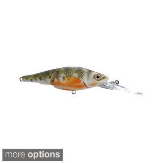 Koppers Live Target Yellow Perch Deep Dive Jointed Crankbait 3-5/8 inches