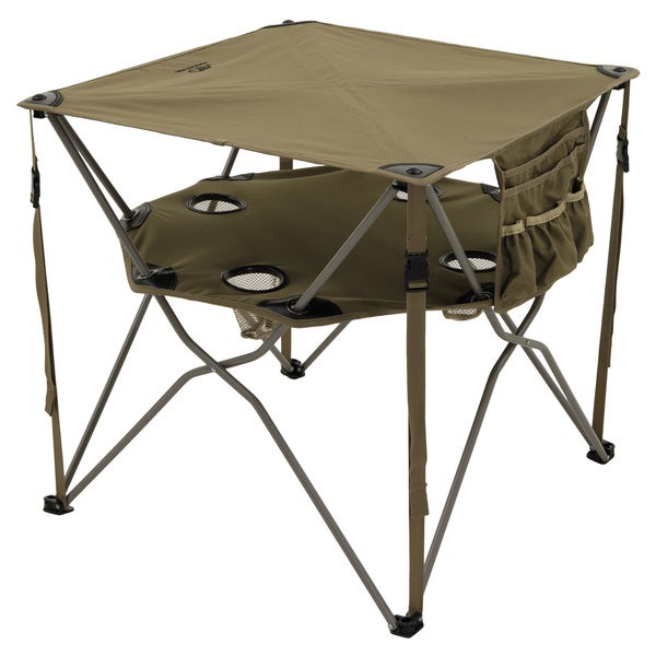 Alps Mountaineering 8369914 Khaki Polyester Steel 36x7x6-inch 6-pounds Eclipse Table