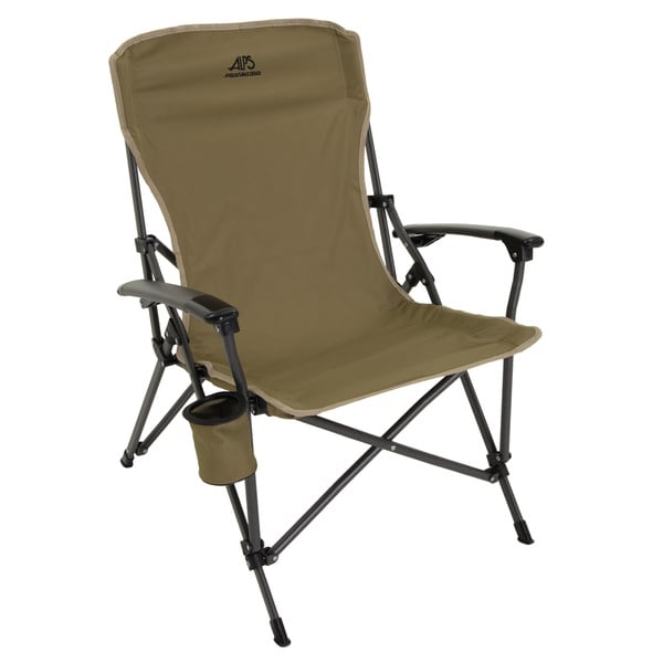 Alps Mountaineering 8151115 Khaki Polyester Steel 36x8x7-inch 13-pounds Leisure Chair