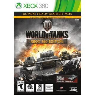 Xbox 360 - World Of Tanks