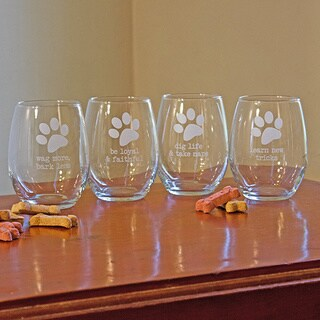 Dog Wisdom Stemless Wine Glasses (Set of 4)|https://ak1.ostkcdn.com/images/products/9174053/P16350199.jpg?_ostk_perf_=percv&impolicy=medium