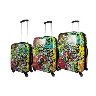 Chariot Color Fusion 3-piece Hardside Lightweight Spinner Luggage Set