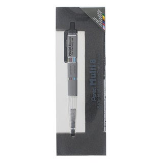 Pentel Super Multi-8 Automatic Mechanical Pencil Set, 2 Barrel Colors