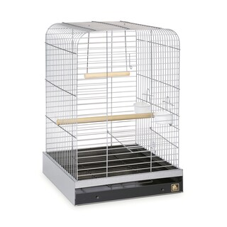 Prevue Pet Products Parrot Cage (Option: Silver)