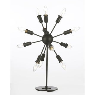 Gallery Contemporary 12-light Iron Table Lamp