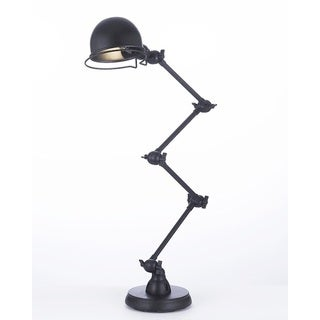 Gallery Iron Black Scissor Task Desk Lamp