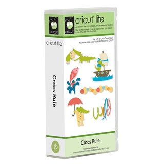 Cricut Lite Crocs Rule Cartridge