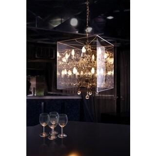 Chrome Centurion Translucent Ceiling Lamp