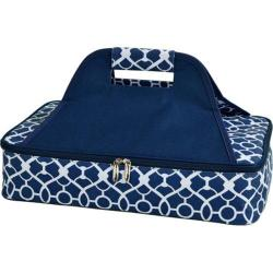Picnic at Ascot Insulated Casserole Carrier Trellis Blue