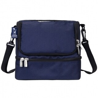 Wildkin Whale Blue Two Compartment Lunch Bag