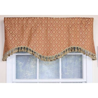 Rocco Gold Cornice Window Valance