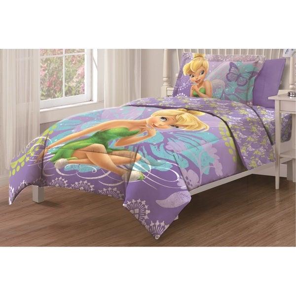 tinkerbell fairywonder 3 piece twin comforter set free shipping