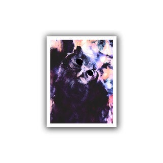 Dean Uhlinger 'Wondering Wise' Unwrapped Canvas
