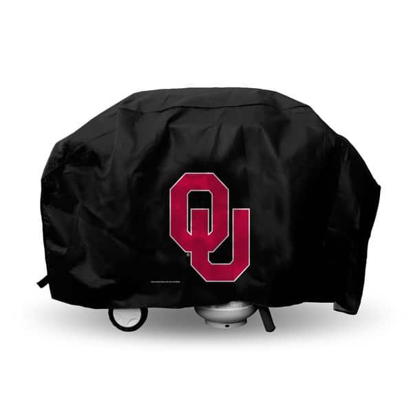 NCAA Oklahoma Sooners Vinyl Grill Cover