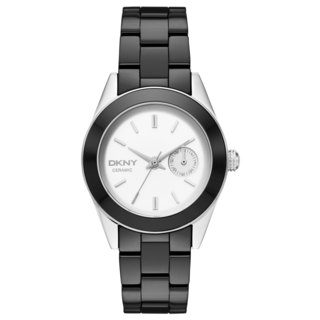 DKNY Women's NY2143 Nolita Black Ceramic Bracelet Watch