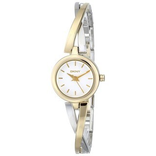 DKNY Women's NY2171 Crosswalk Gold and Silver Tone Watch