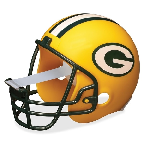 Green Bay Packers Scotch Dispenser with Magic Tape