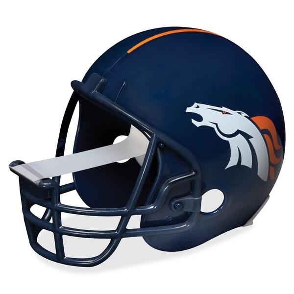Denver Broncos Scotch Dispenser with Magic Tape