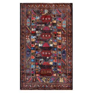 Handmade Balouchi Wool Rug (Afghanistan) - 2'8 x 4'5