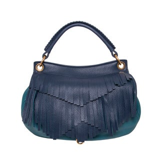 Miu Miu Fringe Leather Hobo Bag
