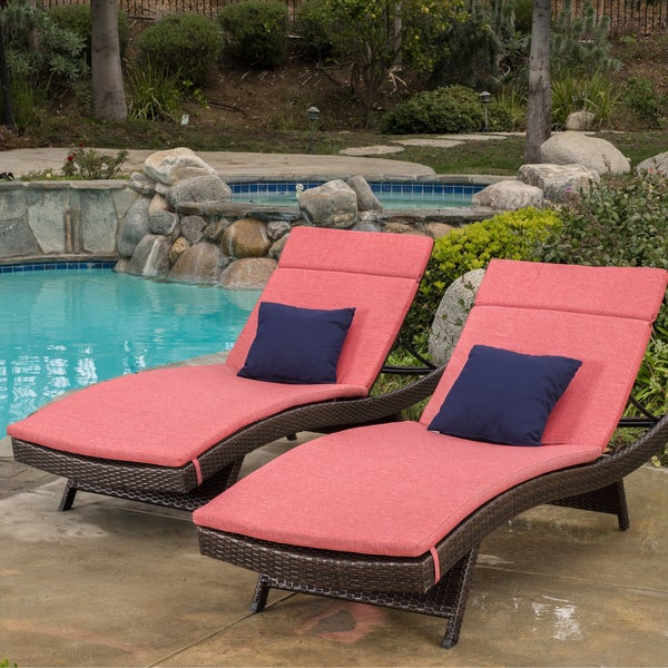 """Set of 6 Outdoor Patio//Pool Chair Cushion Covers or smaller Orange 20/"""" x 20/"""""""