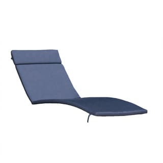 Salem Outdoor Chaise Lounge Cushion (Set of 2) by Christopher Knight Home
