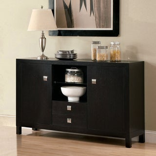 Furniture of America Catherine Espresso Dining Server
