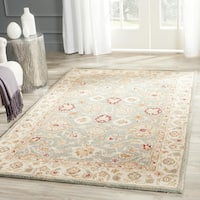 Safavieh Antiquity Grey Blue/ Beige Rug - 11' X 15'