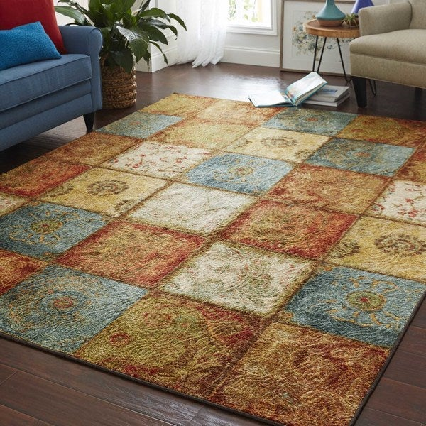 Mohawk Home Free Flow Artifact Panel Area Rug 7 6 X 10