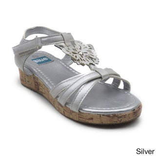 Blue Children's 'K Columbus' Butterfly T-strap Sandal (3 options available)
