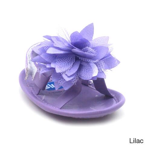 Blue Baby's 'P-Fluffy' Floral Shoes