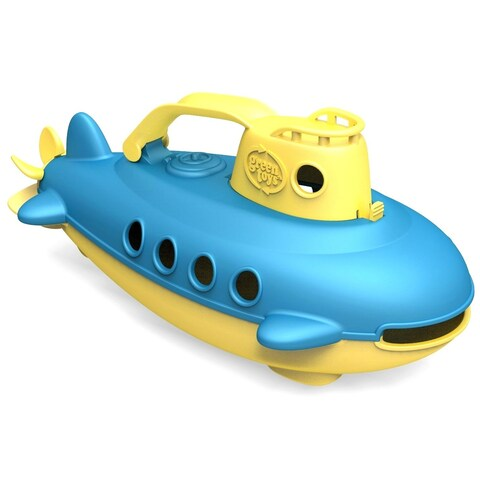 Green Toys Yellow Submarine - Multi