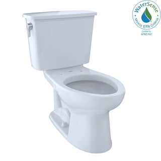 Toto CST744EN-01 Eco-Drake Elongated Bowl Cotton Toilet
