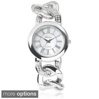 Geneva Platinum Stainless Steel Rhinestone Chain Watch https://ak1.ostkcdn.com/images/products/9176666/P16352382.jpg?_ostk_perf_=percv&impolicy=medium