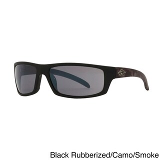 Anarchy Unisex 'Skeptical' Polarized Sunglasses - Medium (Option: Black/Grey - Black - Grey)