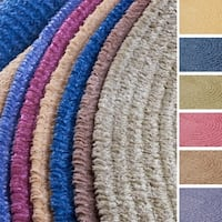 Soft Chenille Braided Reversible Rug USA MADE - 6' x 9'