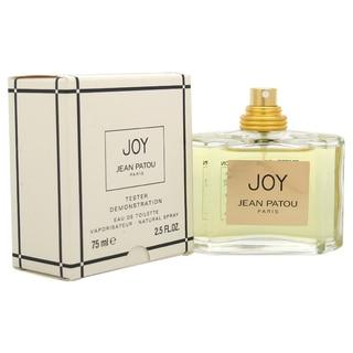Jean Patou Joy Women's 2.5-ounce Eau de Toilette Spray (Tester)